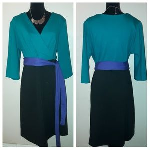 Lane Bryant Color-block Dress